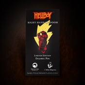 Image of Hellboy/B.P.R.D. Limited Edition Enamel Right Hand of Doom pin! HAPPY HELLBOY DAY!