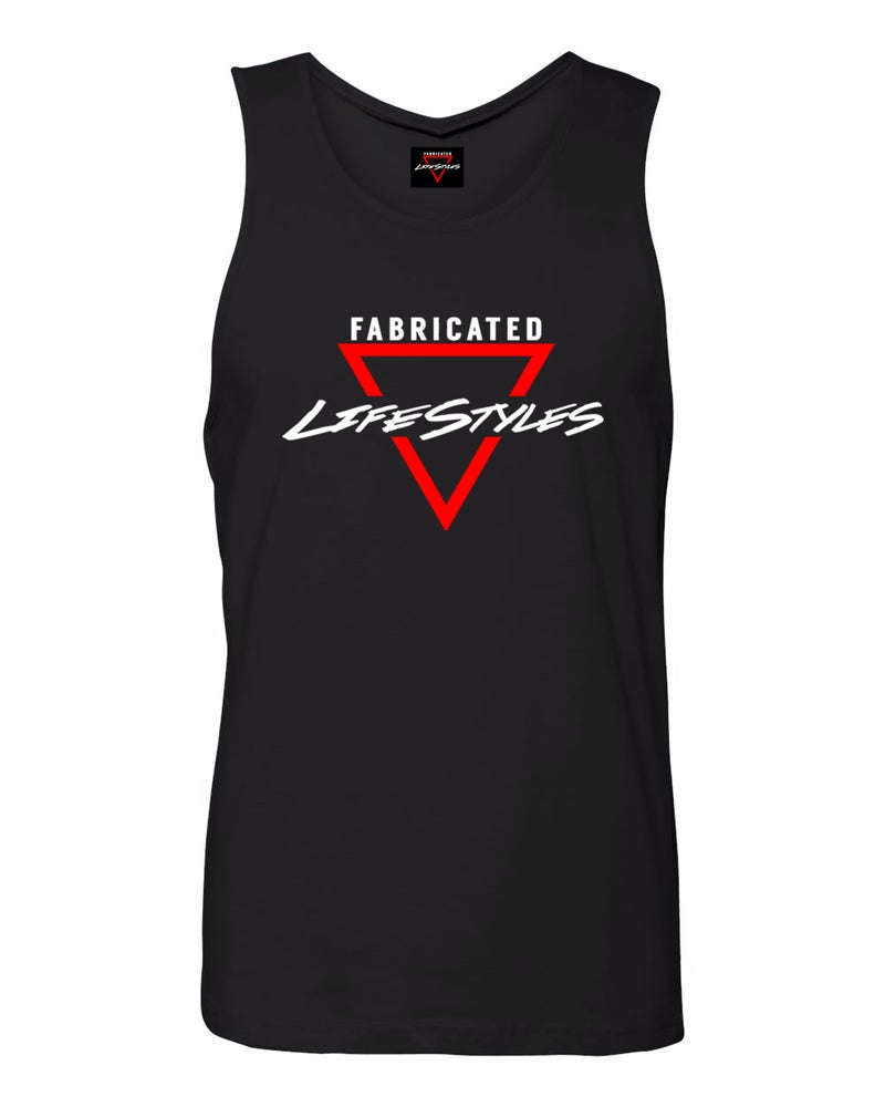 Image of Fabricated Lifestyles Black Tank Top