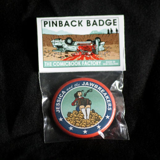 Image of Jessica and the Jawbreakers Pin-Back Badge