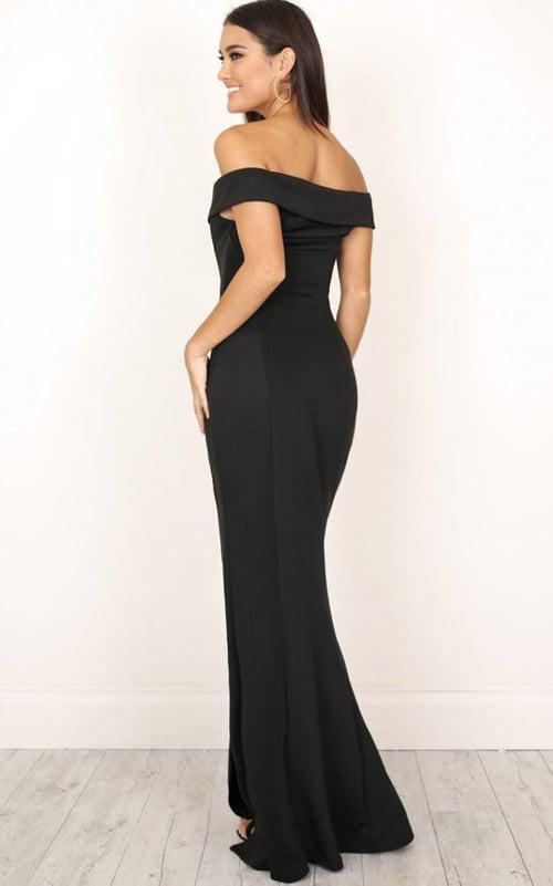 Image of Miranda  Gown Black