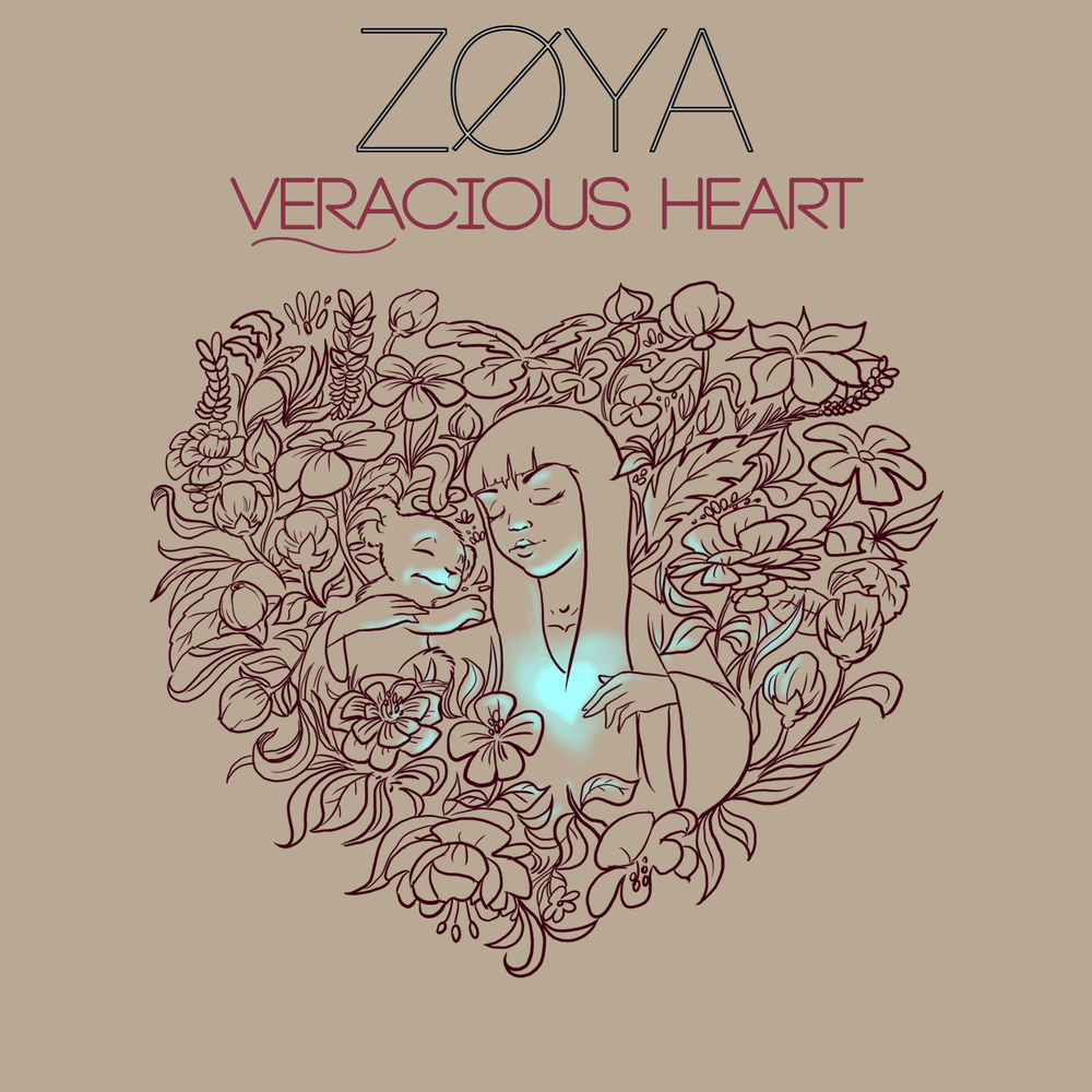 Image of ZØYA - Veracious Heart EP (Physical Copy)