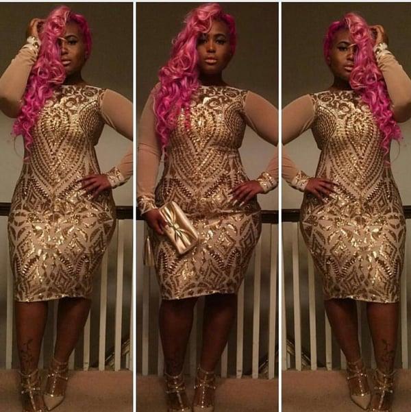 Golden Flair - Plus Size Fashionz
