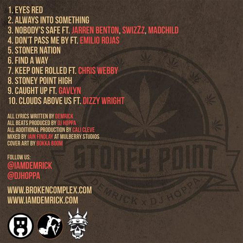 Image of Demrick & DJ Hoppa - Stoney Point (CD)