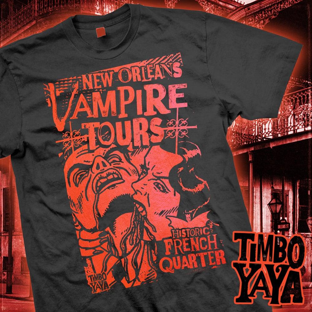 "Image of ""New Orleans Vampire Tours - Bite"" design by TimboYaYa"