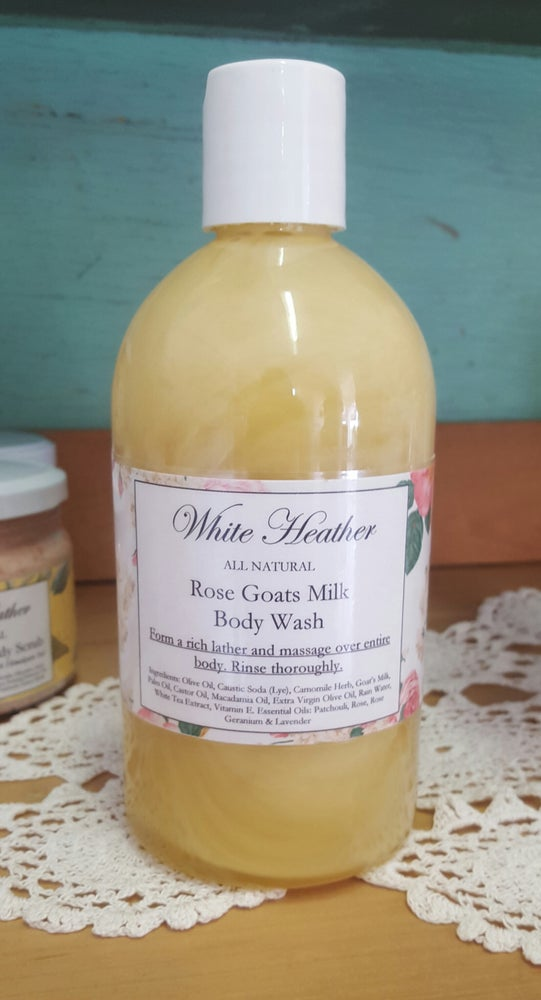 Image of Rose Goats Milk Body Wash