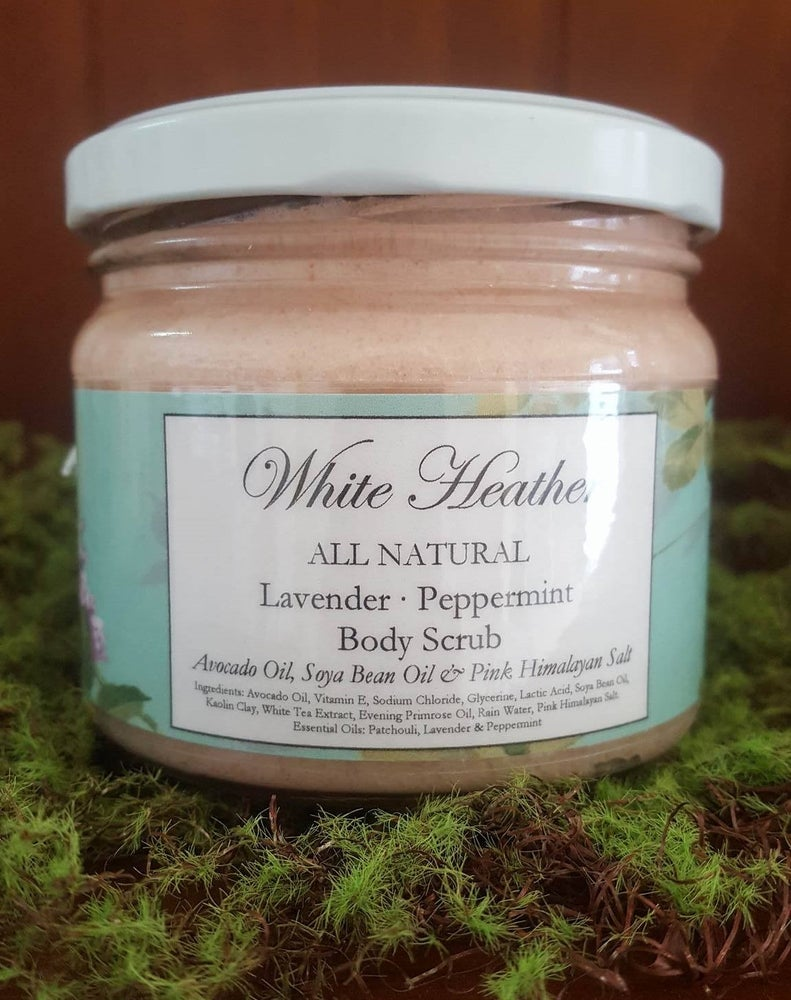 Image of Lavender & Peppermint Body Scrub