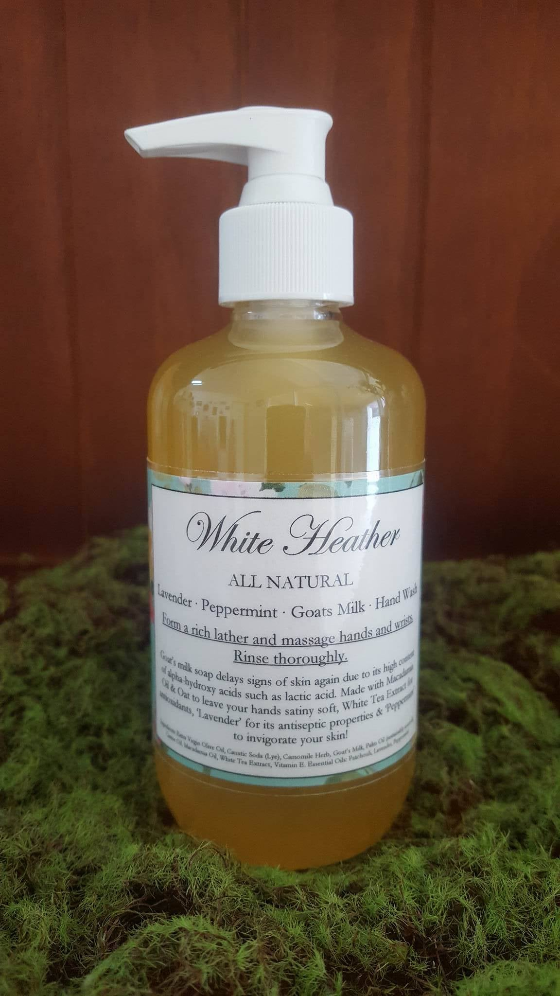 Image of Lavender & Peppermint Goats Milk Hand Wash