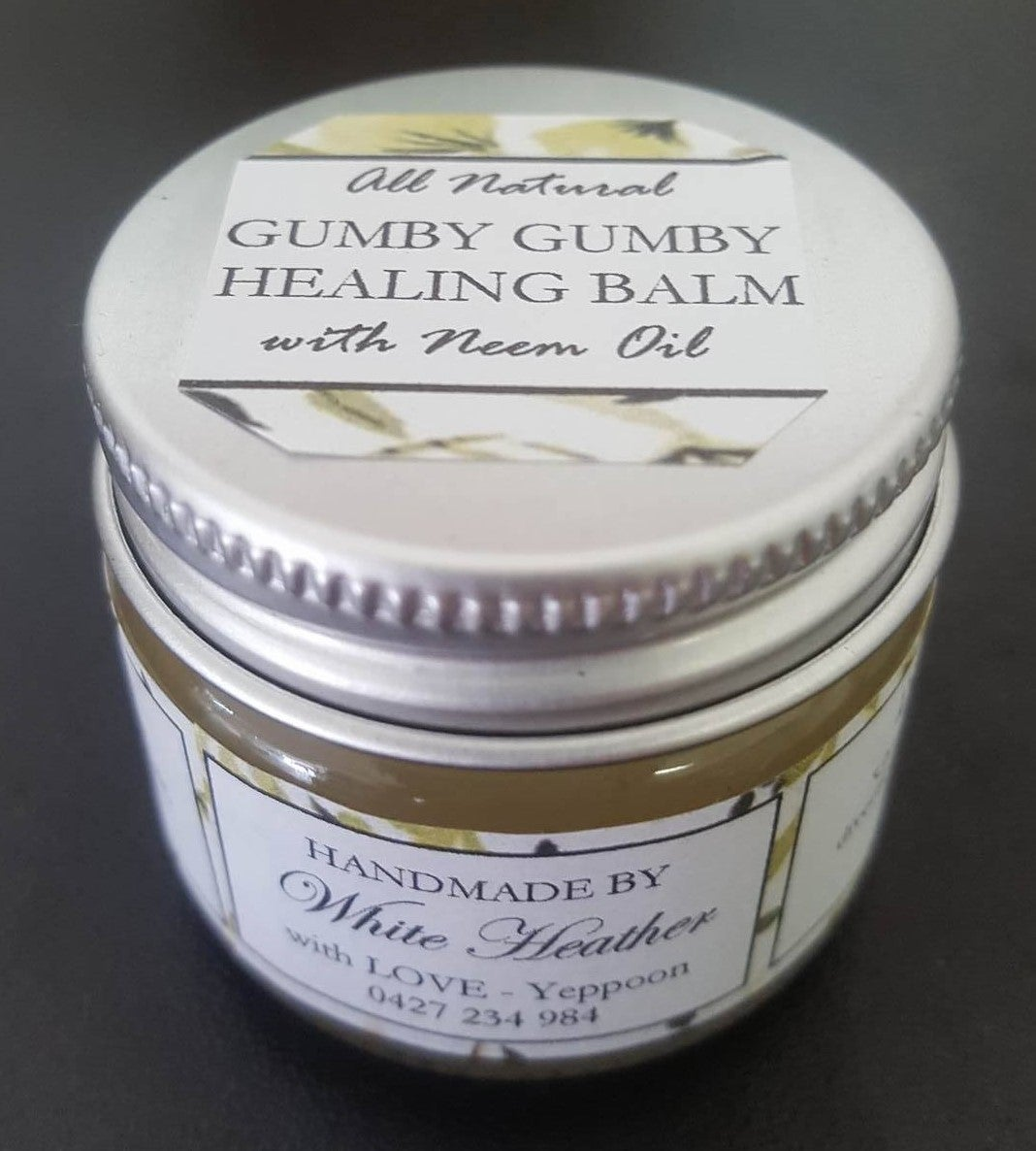 9d6a43ed5 Image of Gumby Gumby Neem Lemon Myrtle Healing Balm