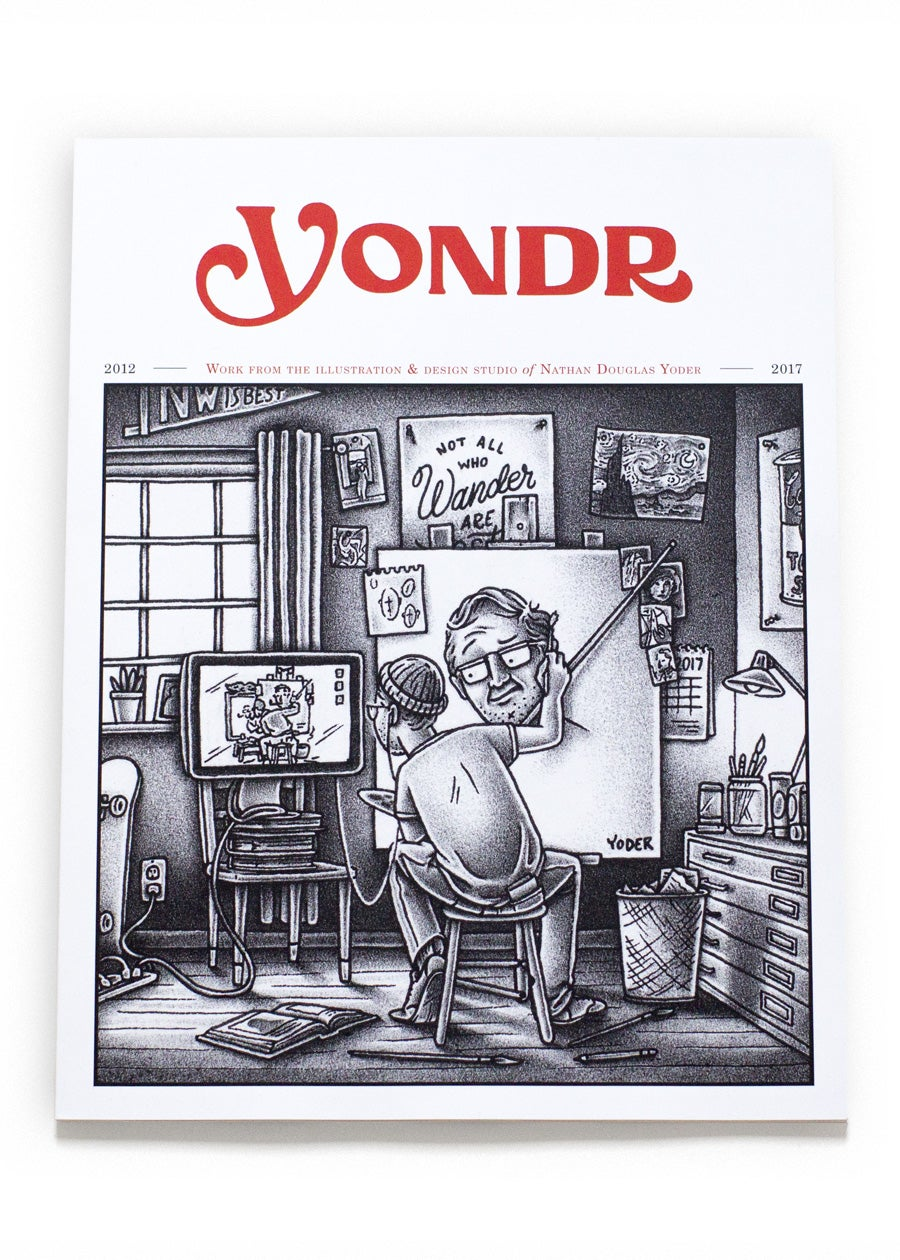 Image of Yondr Studio Art Book