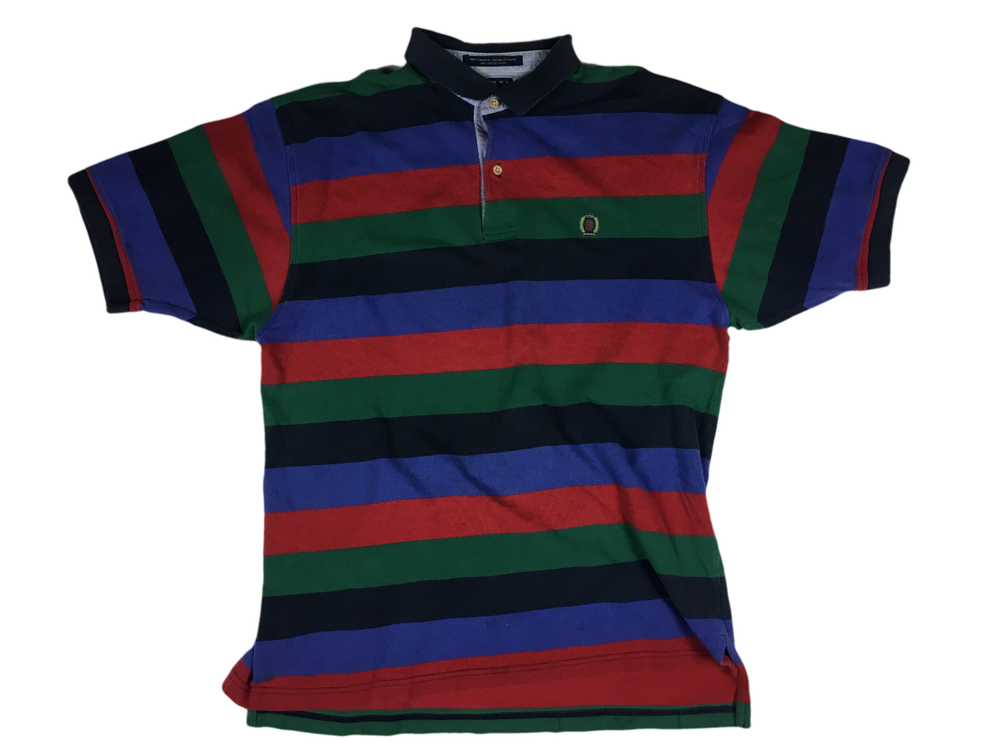 Image of Vintage stripe Tommy Hilfiger polo shirt