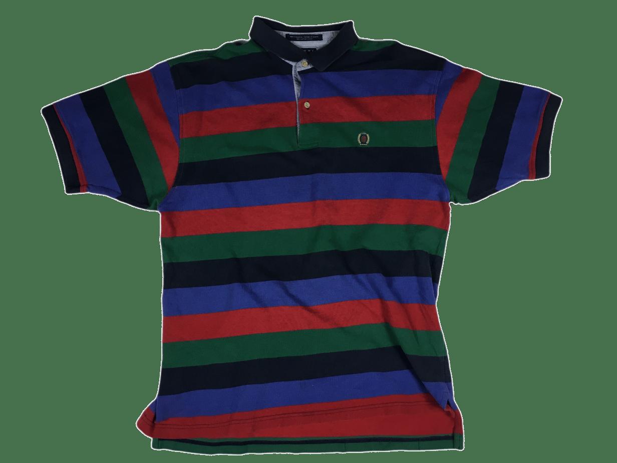 Image of Vintage stripe Tommy Hilfiger polo shirt