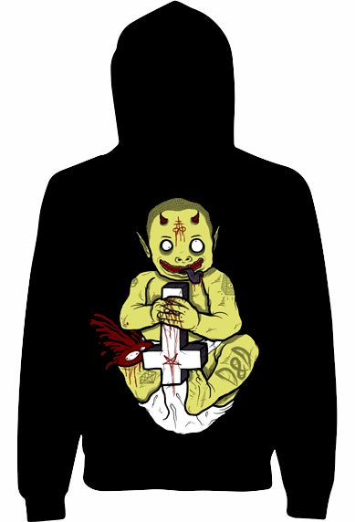 Image of Little Lucifer Unisex Pullover Hoody
