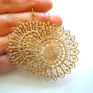 Image of Filligree earrings