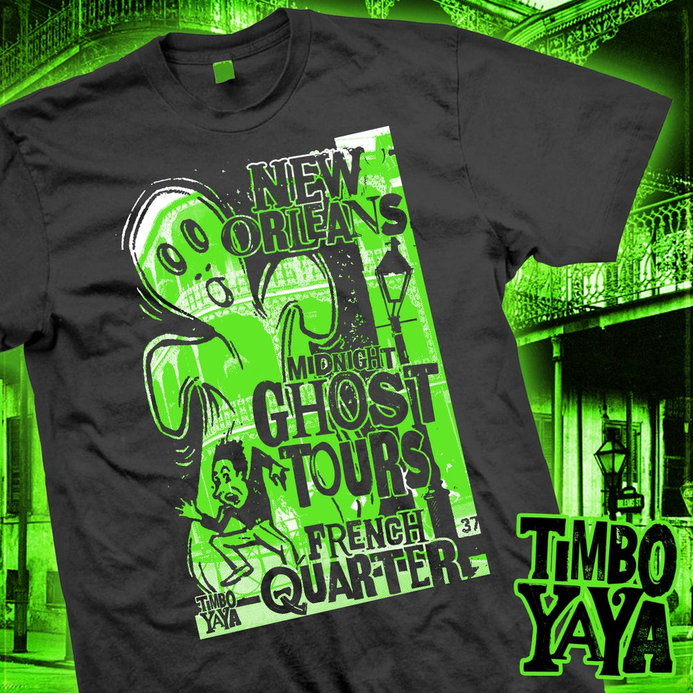"""Image of """"New Orleans Ghost Tours"""" design by TimboYaYa!"""