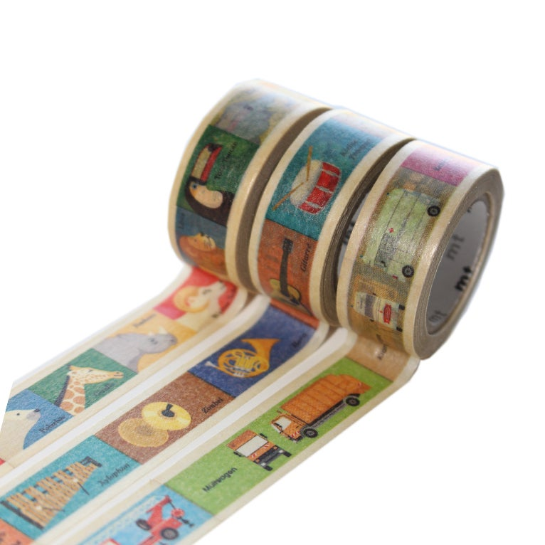 Image of MT Washi Tape - Kids Picture Series
