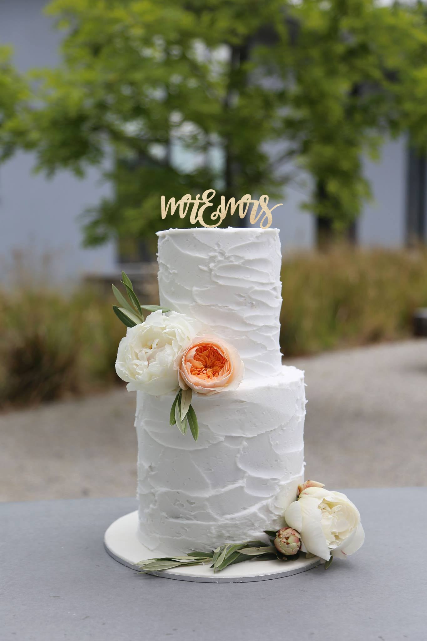 Image of Hand Scripted Mr & Mrs