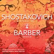 Image of 2-TIME GRAMMY WINNING Shostakovich: Symphony No. 5 and Barber's Adagio