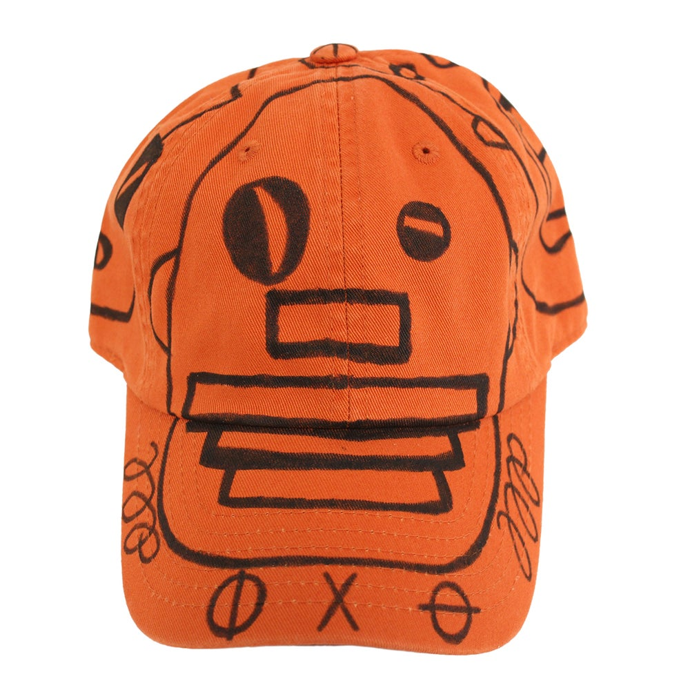 Image of Rust FFP Hand Drawn Hat 03