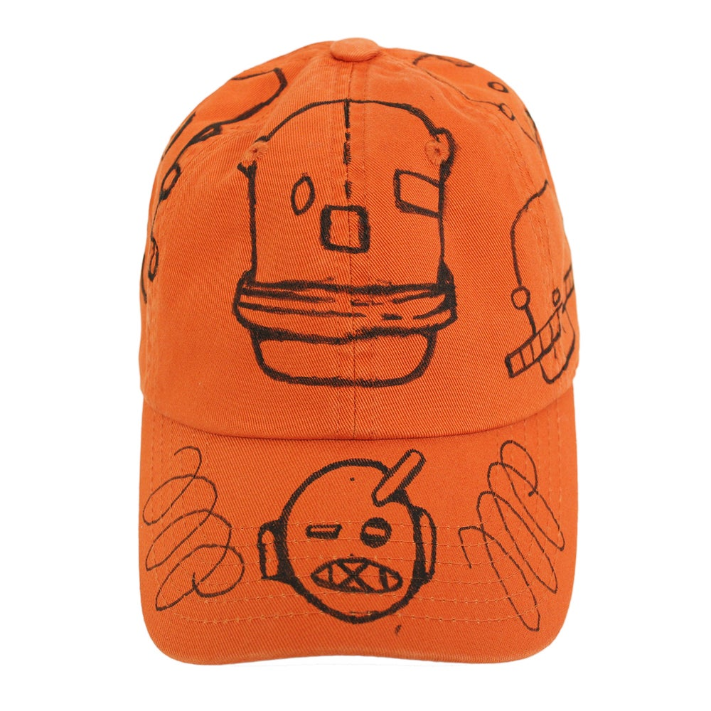 Image of Rust FFP Hand Drawn Hat 04