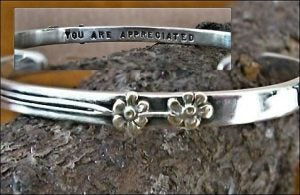"Image of ""You are Appreciated"" Sterling Bracelet"