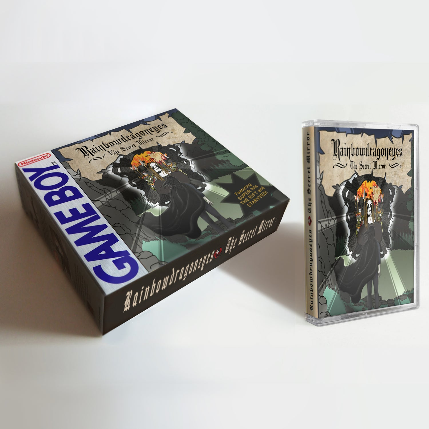 Image of [TAPE] The Secret Mirror- Special Edition Cassette