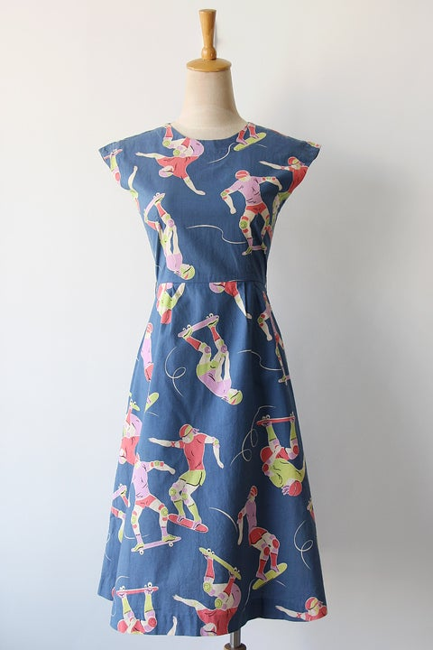 Image of SOLD Rad Skateboard Dress