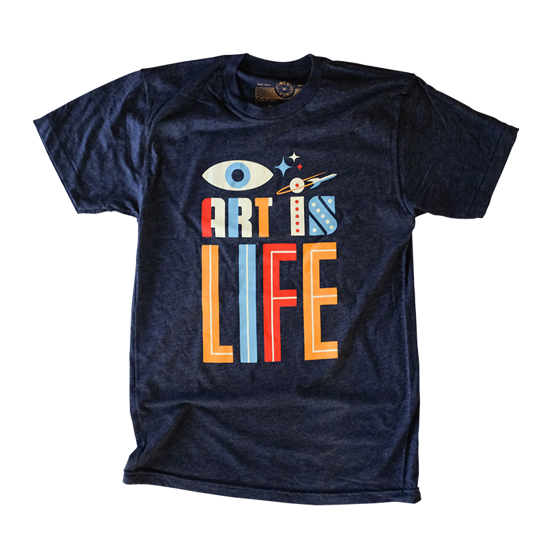 Image of Invisible Creature - Art is Life T-shirt