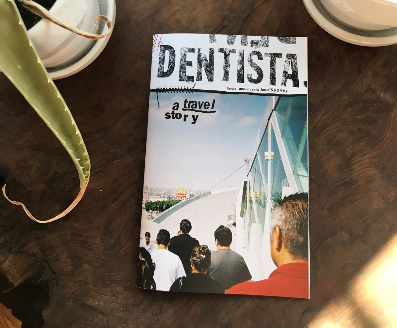 Image of Dentista: 32 page color zine