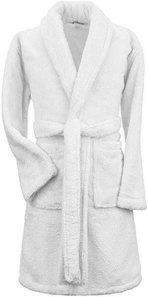 Image of Mens Shawl Plush Robe