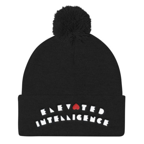 Image of elevated beanie