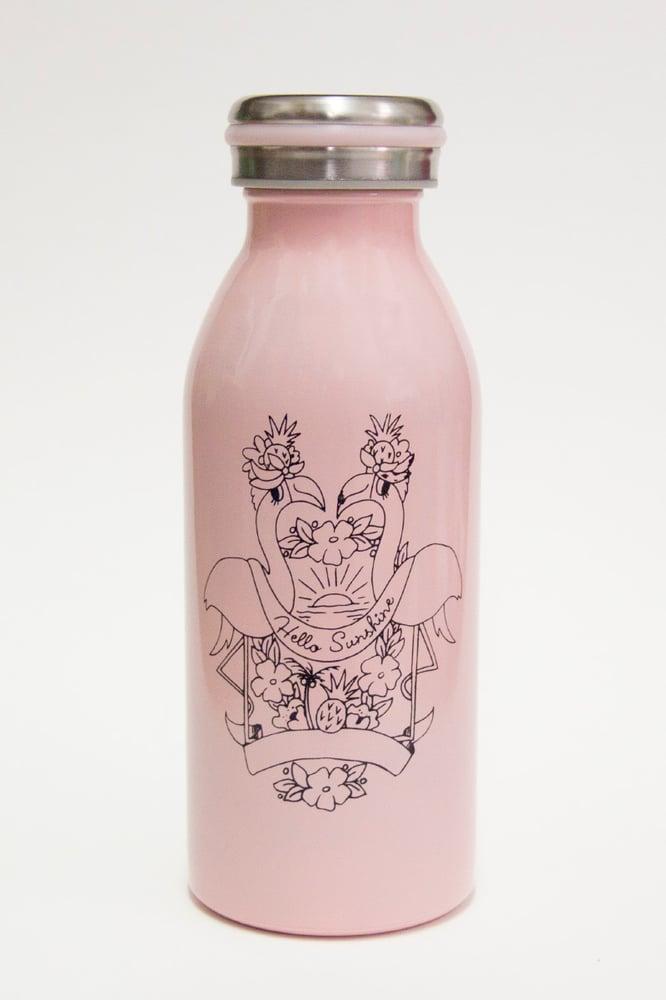 Image of Flamingo Hello Sunshine Drinking Vessel