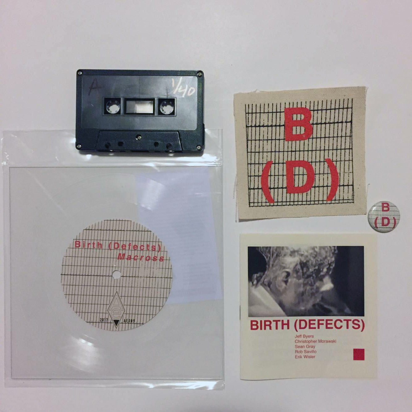 """Image of BIRTH (DEFECTS) - """"Dissimulate"""" / 7"""" Lathe + Cassette Box Set"""