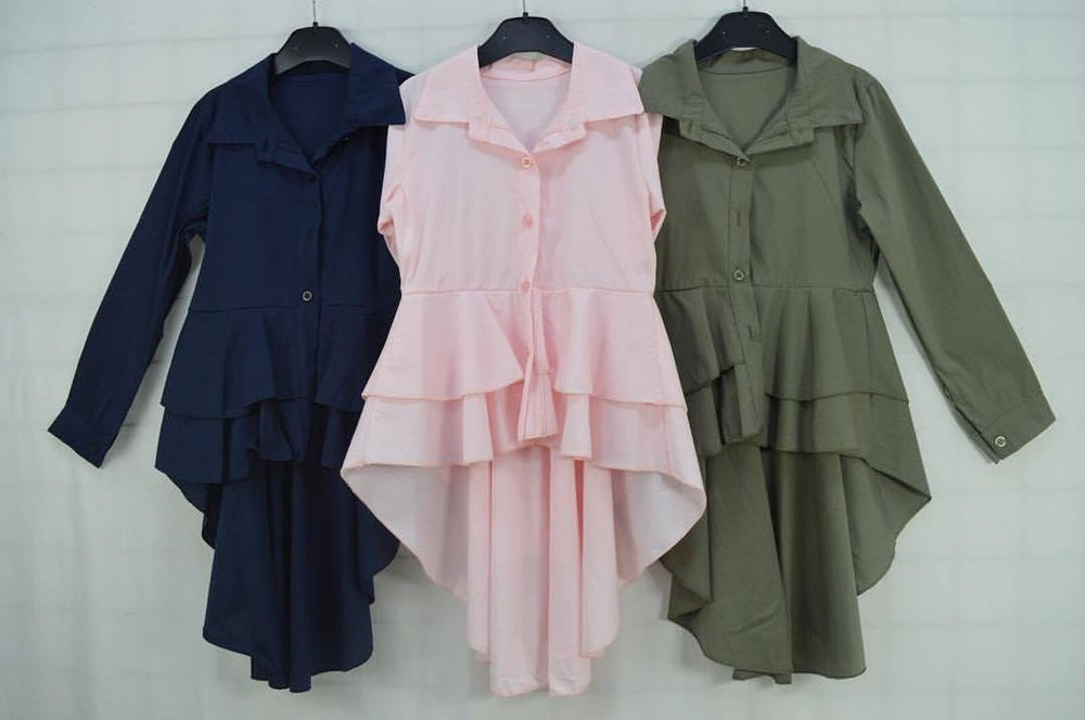 Image of Frill blouse