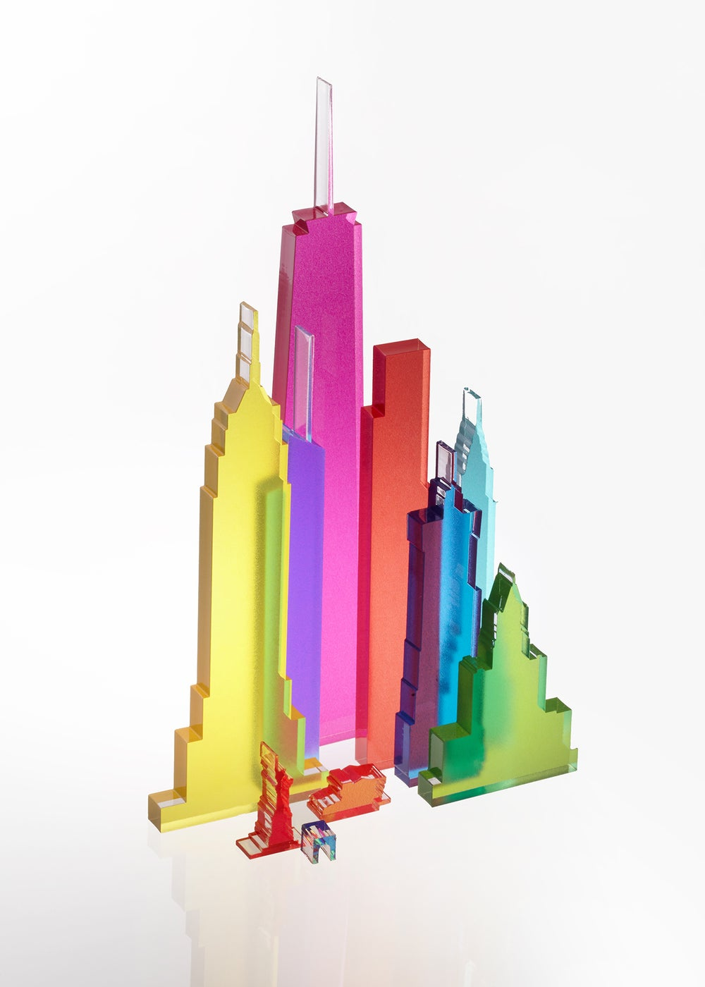 Image of New modular NYC light sculpture