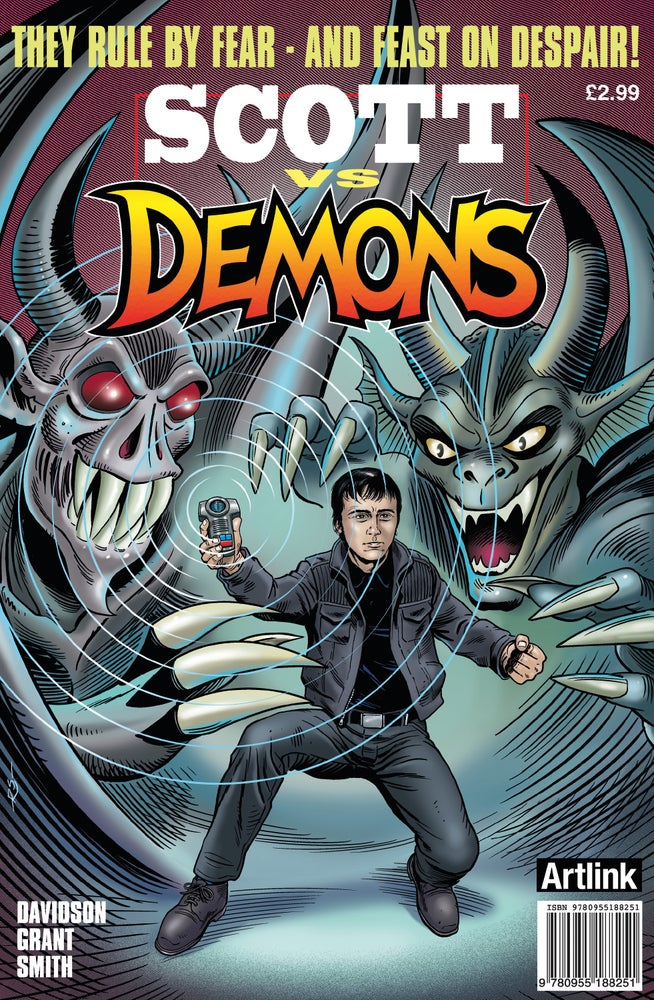 Image of Scott vs Demons Paper Copy