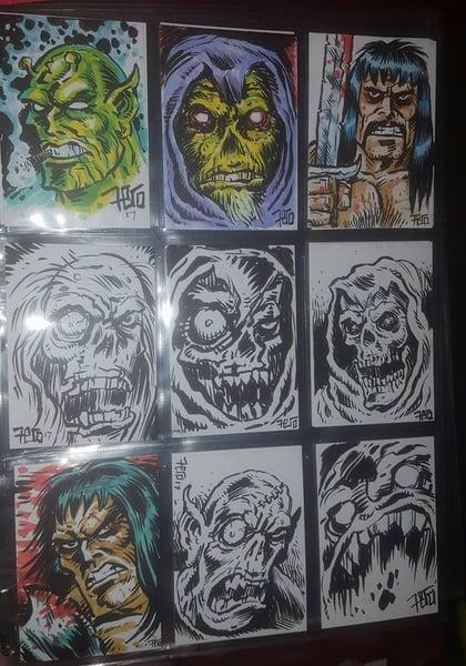 Image of Mini Horror-Heads