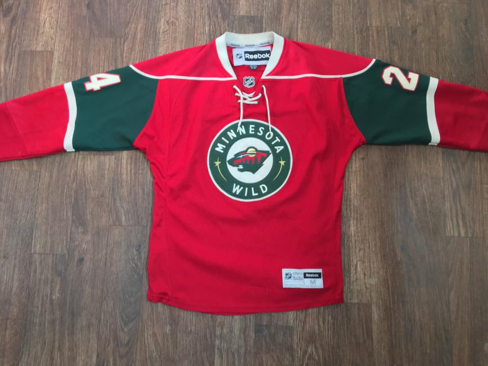 online retailer a010c eeb73 Minnesota Wild Hockey Jersey
