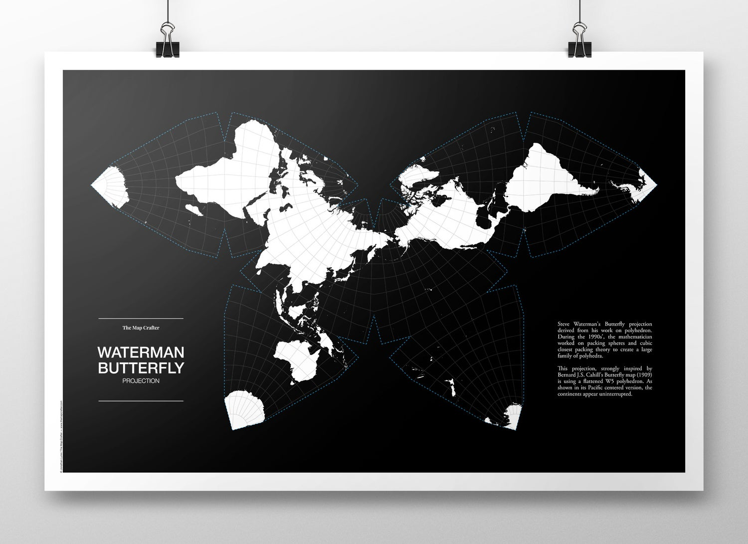 Image of Waterman Butterfly Projection Poster