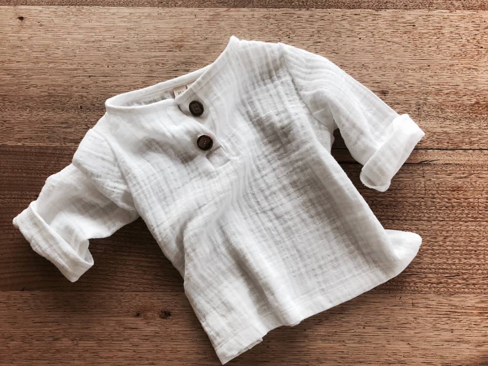 Image of NEW - Edris Shirt - Double Gauze - AW17