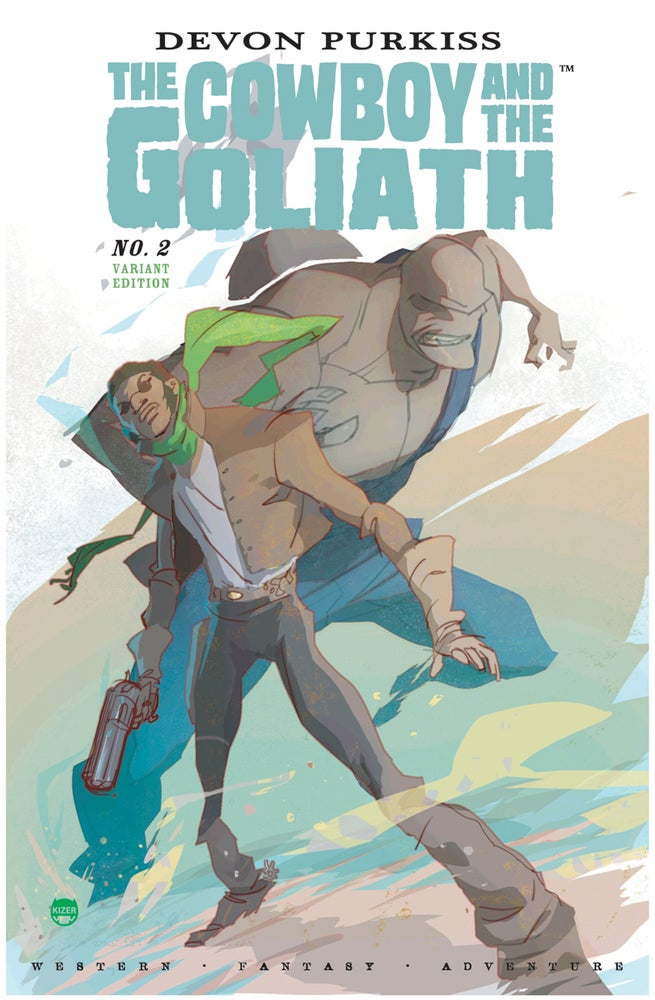 Image of The Cowboy and the Goliath #2 - Variant Edition