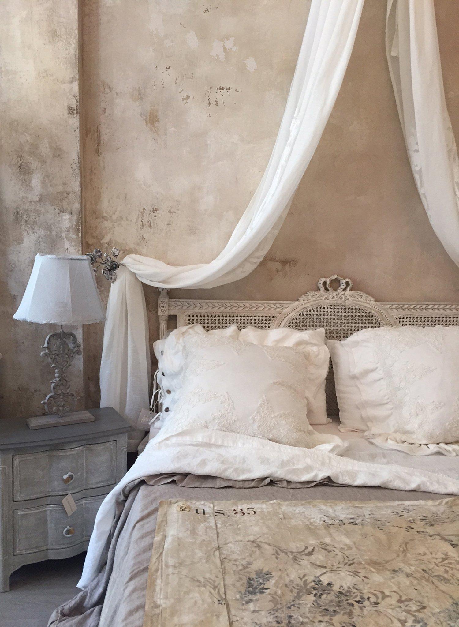 Image of Testata da letto in paglia di Vienna