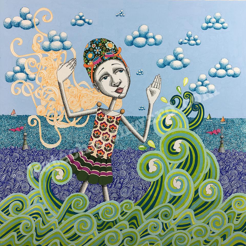Image of Goddess #25 - Giclee Print (A3)