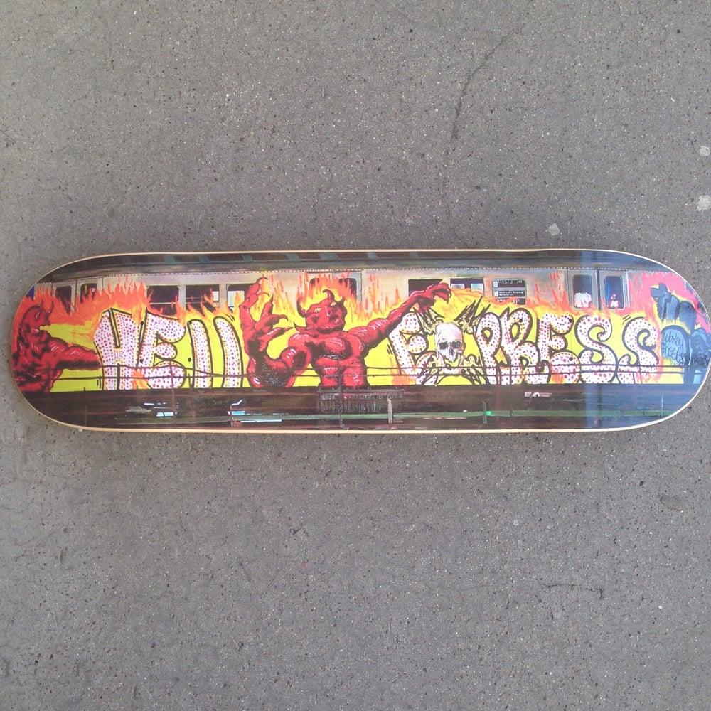 "Image of HELL EXPRESS Horrific Skateboards  8"" ...Ψ¨"
