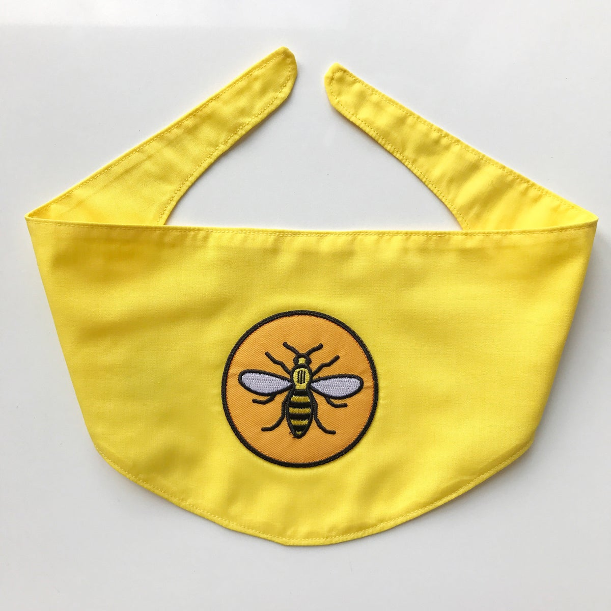 Image of Manchester Bee Dog Bandana by Misheleneous