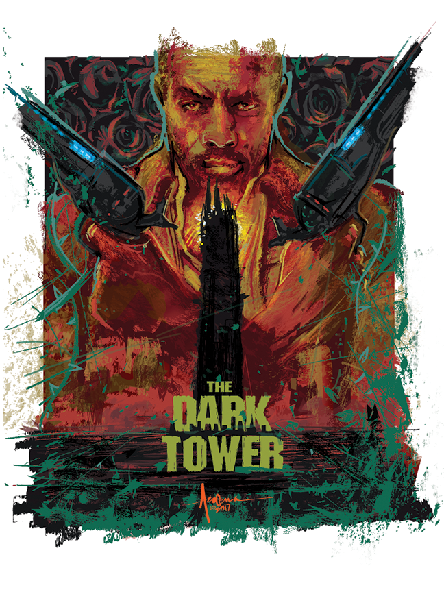 Image of DARK TOWER-2017- 18x24-Edtn 25