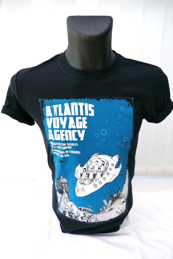 Image of Atlantis Voyage Agency T-Shirt