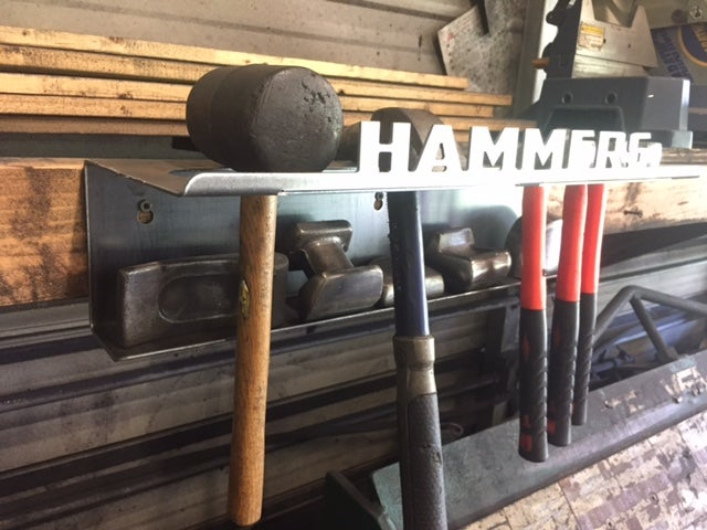 Image of Hammer & Dolly Rack / Holder / Storage