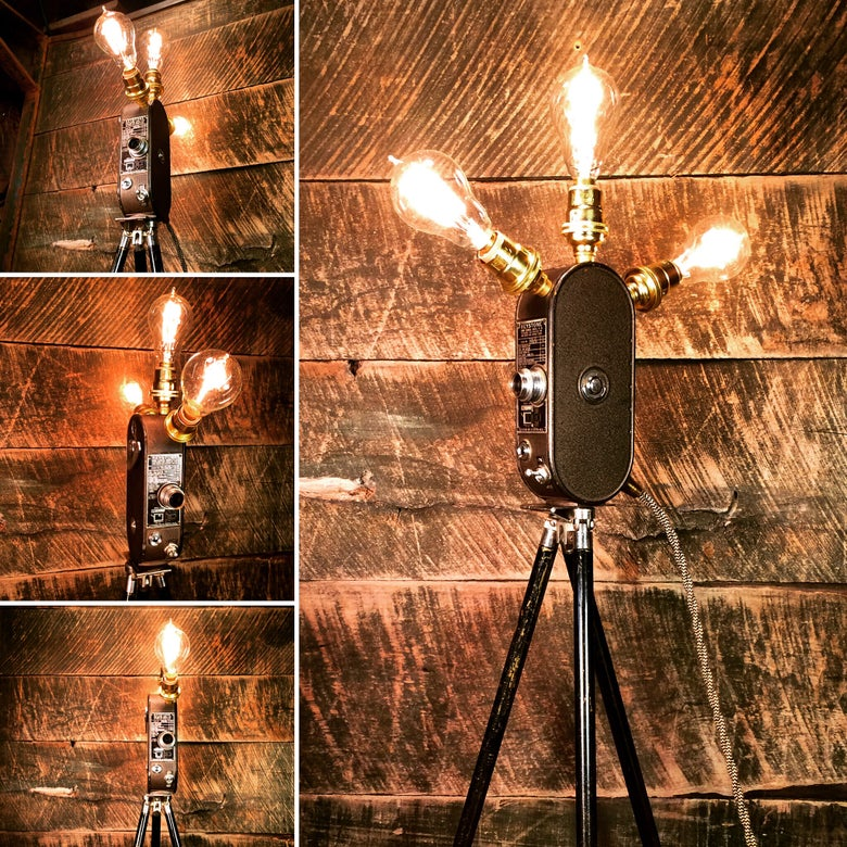 Image of Keystone Film Camera Lamp