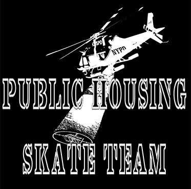 Image of PUBLIC HOUSING (NYPD HELICOPTER) T-SHIRT