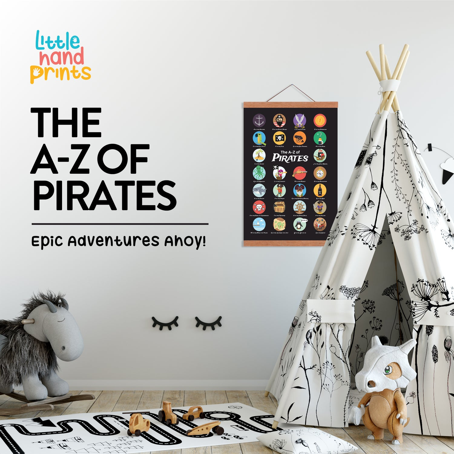 Image of The A - Z of Pirates